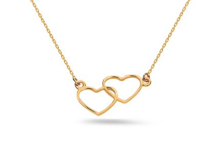 Collana in oro con pendente United Heart