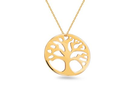 Collana d´oro Tree of Life 2